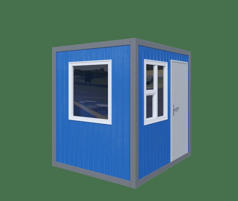 кабина управления бетонным заводом